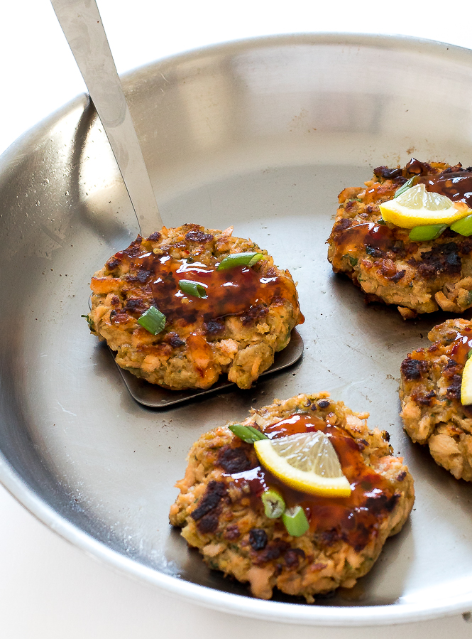Thai Salmon Patties | chefsavvy.com