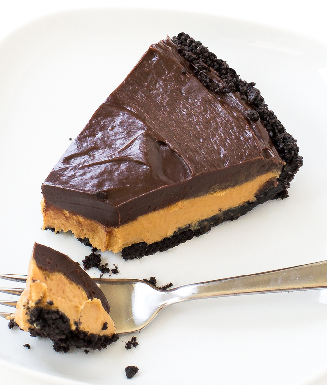 Chocolate Peanut Butter Pie | chefsavvy.com