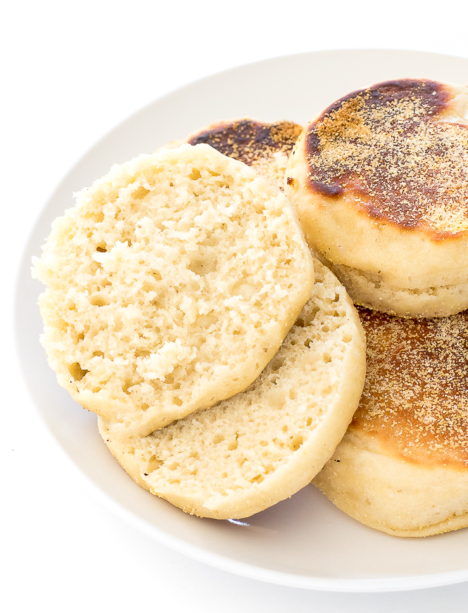 Easy DIY English Muffins | chefsavvy.com