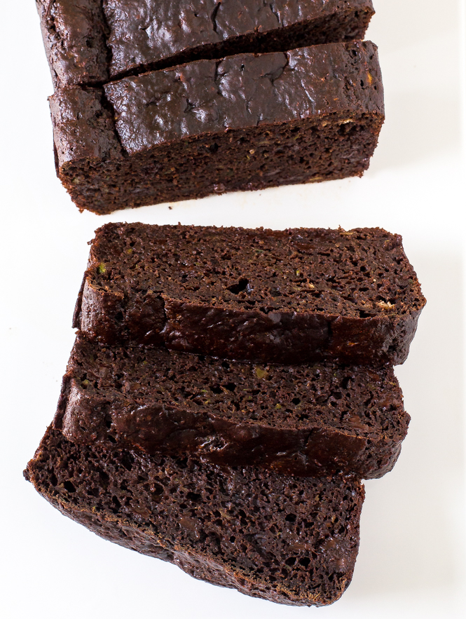 The Best Double Chocolate Zucchini Bread | chefsavvy.com