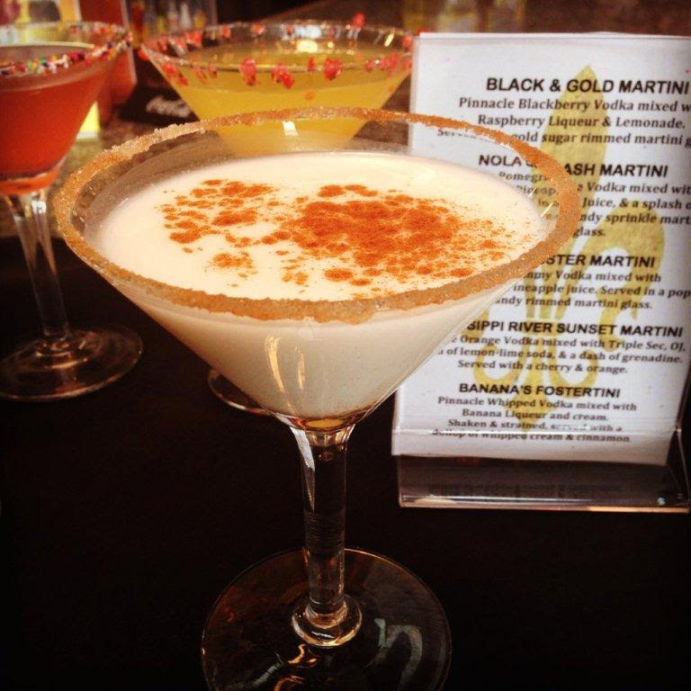Creole Cookery Bourbon Milk Punch