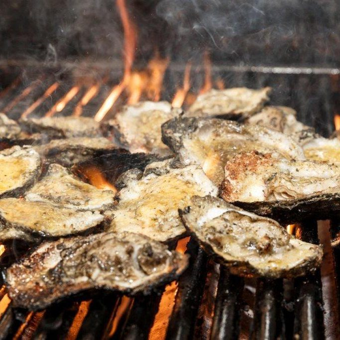 Creole Cookery Char- Grilled Oysters