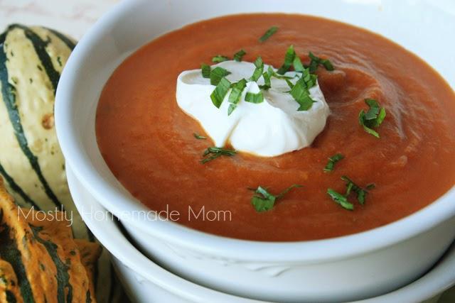 Tomato Pumpkin Bisque 2