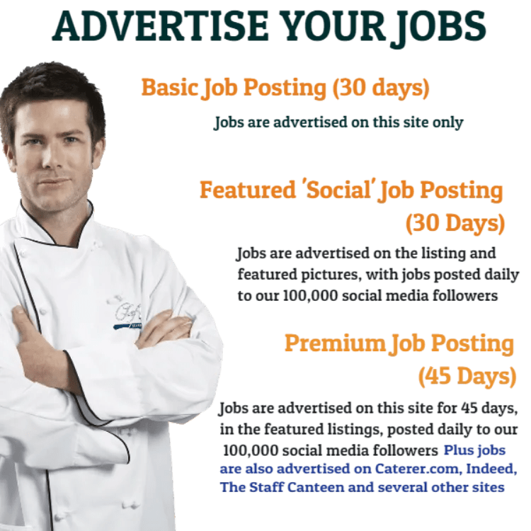 Advertise Your Jobs with Chef Selection