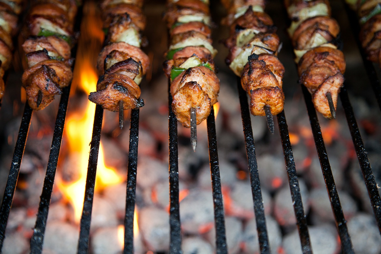 Barbecue is always a delicious choice.