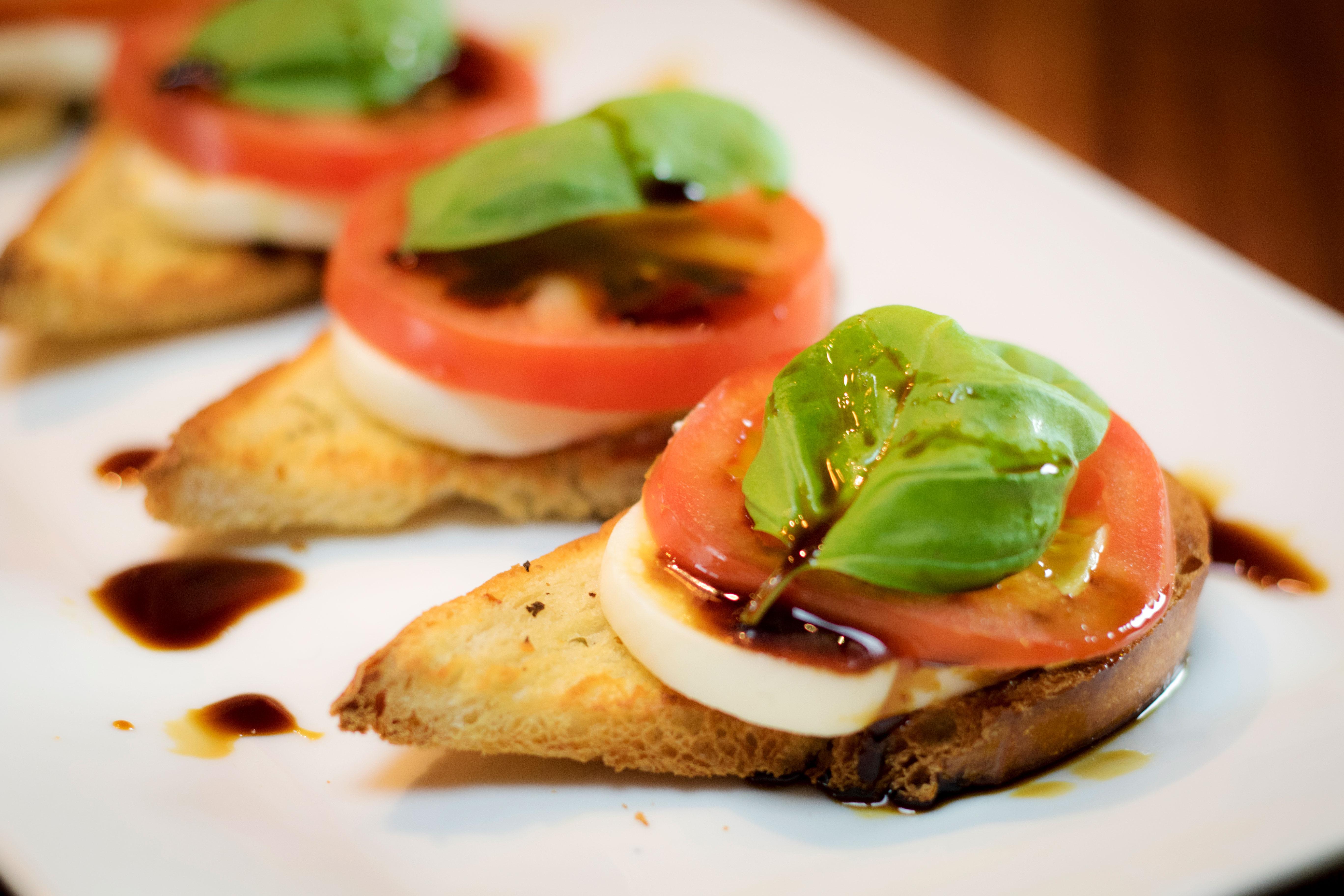 Caprese Garlic Bread is a great twist on a classic Italian side.