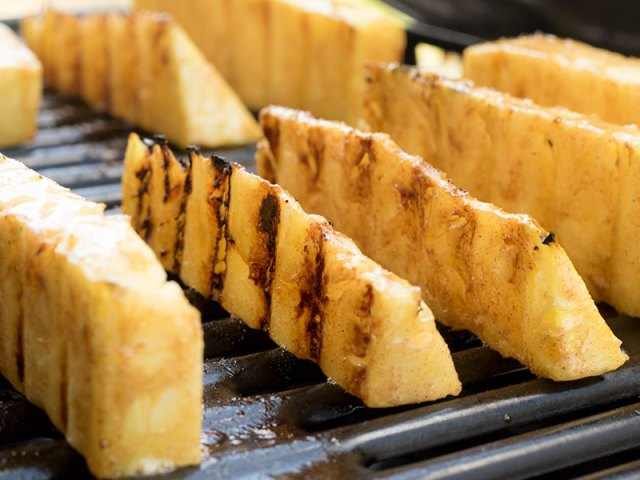 Honey Butter Grilled Pineapple Recipe