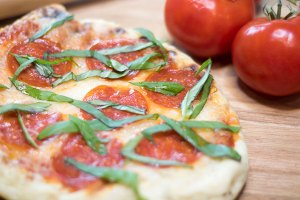 Grilled Pizza with Garlic Butter Recipe