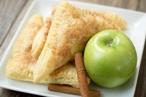 Puff Pastry Cinnamon Apple Turnovers