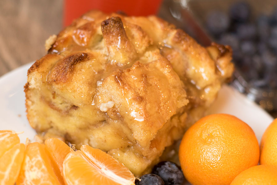 Wake up to a delicious breakfast with this Overnight Cinnamon French Toast Bake.