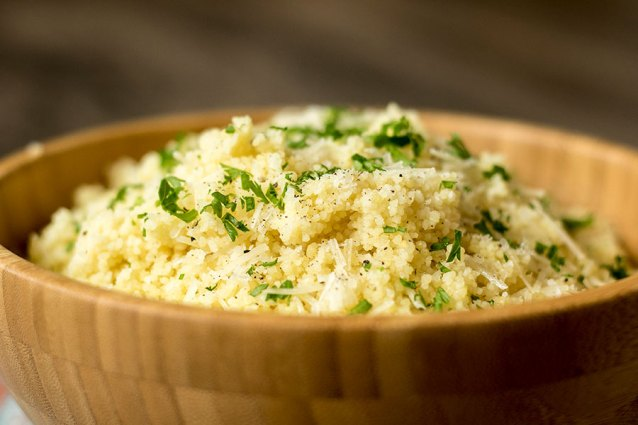 Garlic Parmesan Couscous