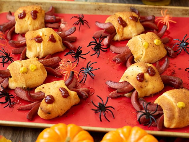 Bagel Dog Spiders