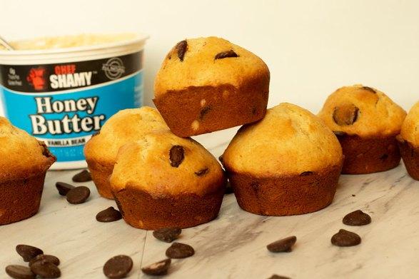 Dark Chocolate Chip Muffins