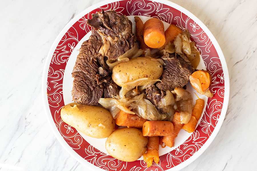 Instant Pot Pot Roast and Potatoes
