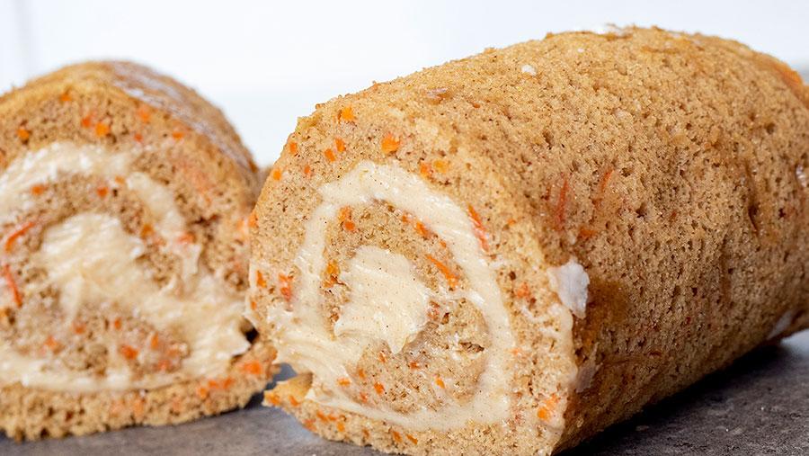 Carrot Cake Roll