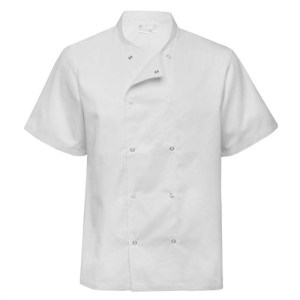 Chefs lightweight jacket, press studs
