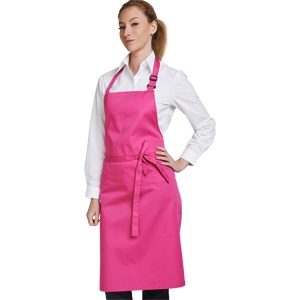 Light Weight Bib Apron (40 colours)