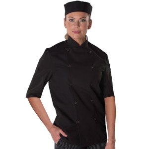 Dennys long life, easy care chefs jacket (DD11)