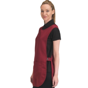Polyester tabard with pocket