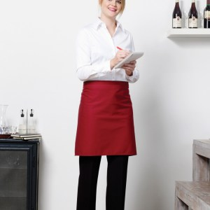 'Brussels' Short Length Bistro Apron