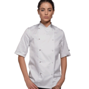 Le Chef Jacket with Metal Studs