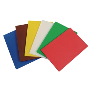 Hygiplas Flexible Colour Coded Cutting Mats pack of 6