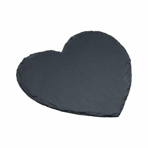 Artesà Appetiser Slate Heart Shaped Serving Platter
