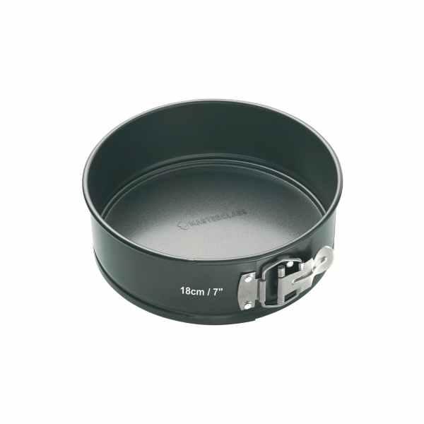 MasterClass Non-Stick 18cm Loose Base Spring Form Cake Pan