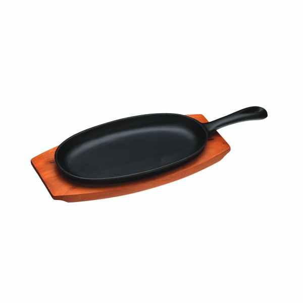 KitchenCraft World of Flavours Oriental Iron Sizzle Platter