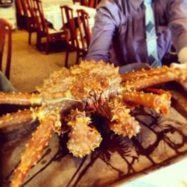 I love me some Alaskan King Crab.