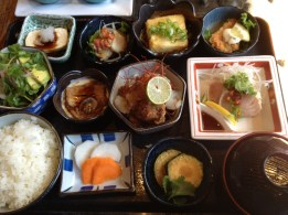 My favorite lunch in Vancouver is the Super Bento at Kingyo Izakaya.