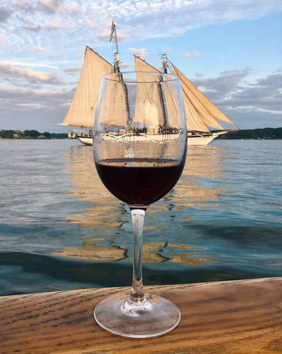 Sunset Wine Sail in Portland, Maine: Delicious Tuscany