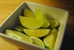 fresh lime wedges