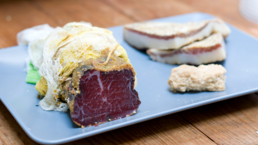 learn about koji and miso like this Koji-Rubbed Bresaola with Curry