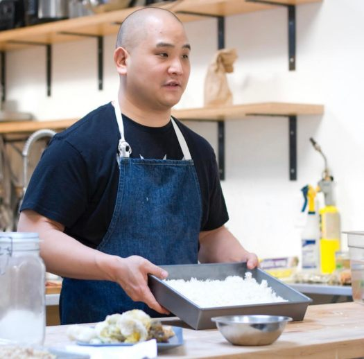 chef rich shih did a workshop for those