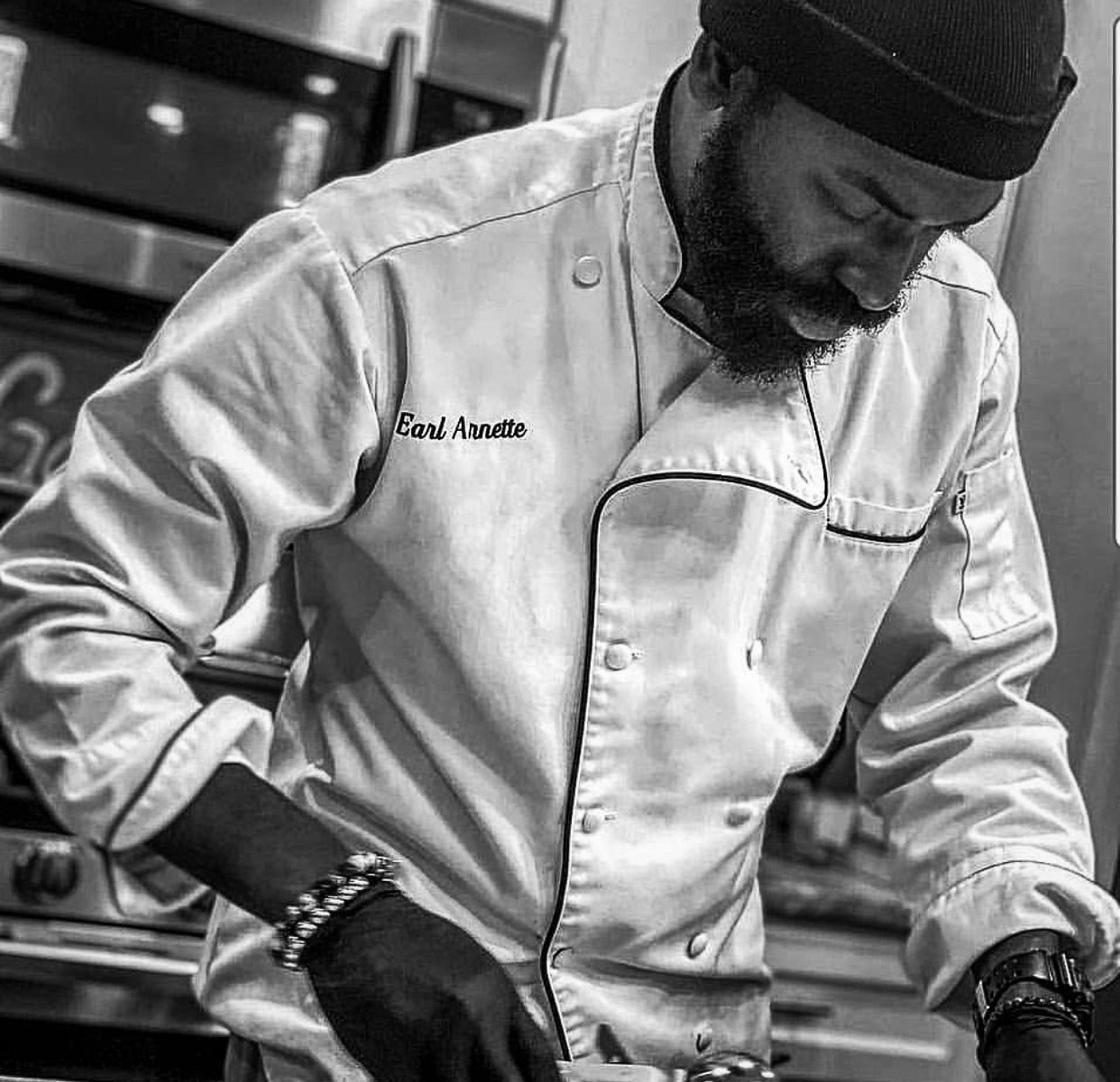 chef earl arnette III of steez catering in baltimore