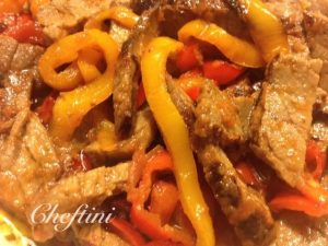 London Broil and Peppers