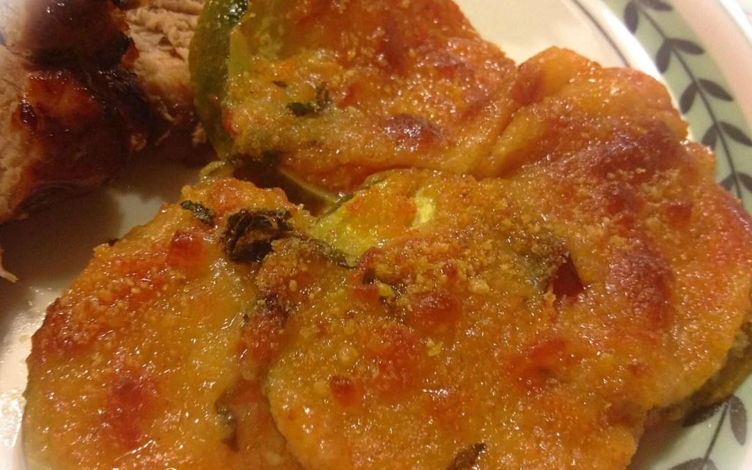 Zucchini and Tomato Parmesan Gratin