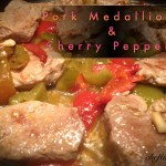 Pork Medallions and Peppers 2
