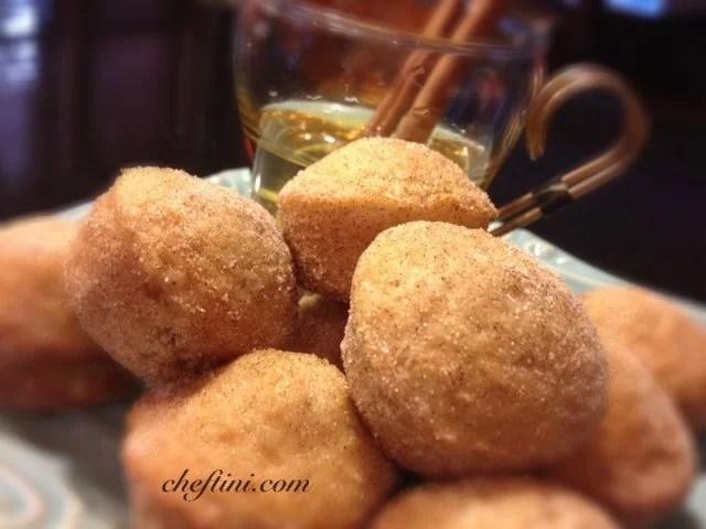 Apple Cider Donut Cupcakes