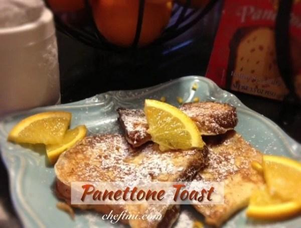 Panettone Toast