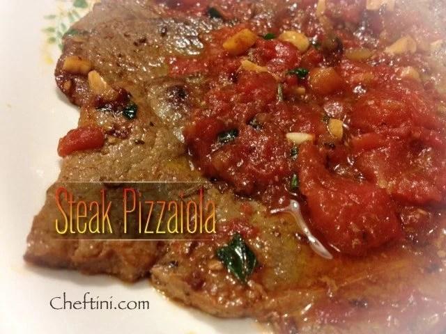 """Bistecca """"Steak"""" Pizzaiola"""
