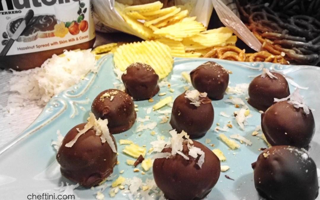 Nutella Chip-Zel Truffles