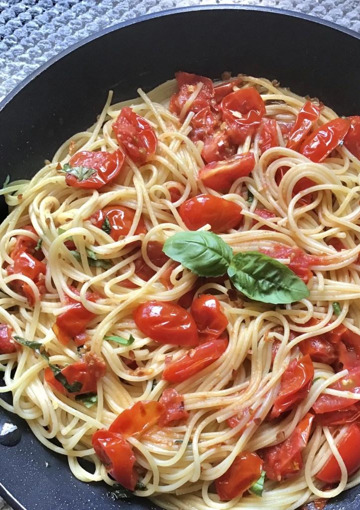 Spaghetti Cherry Tomatoes