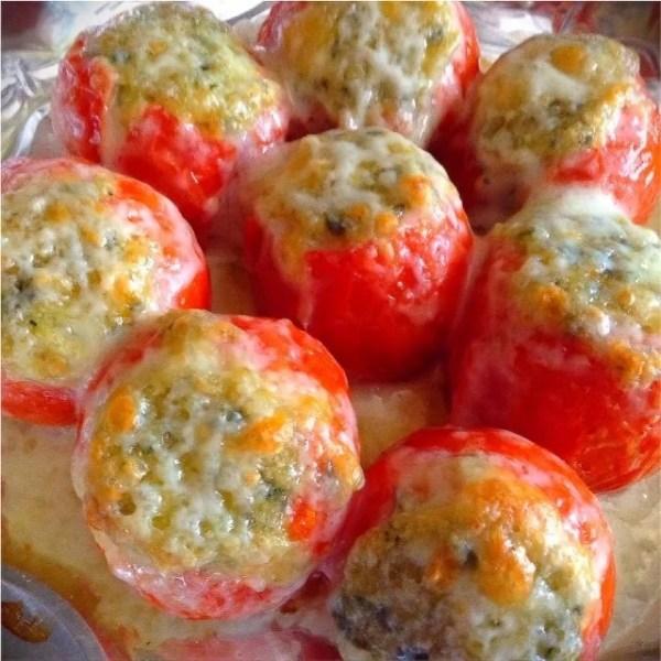 Campari Stuffed Tomatoes