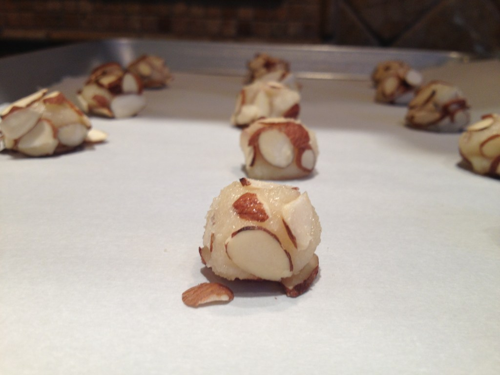 Italian Almond Cookie Balls