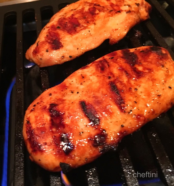 Chicken with Garlic Lime Teriyaki