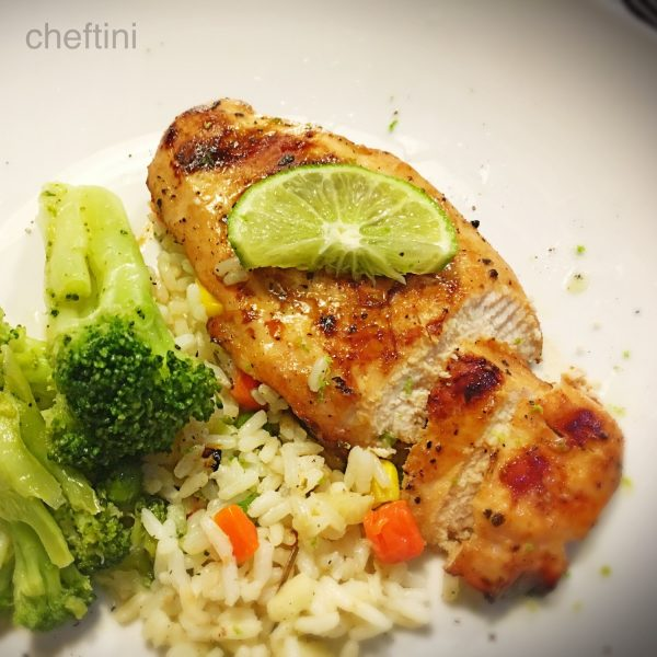 Garlic-Lime Teriyaki Grilled Chicken