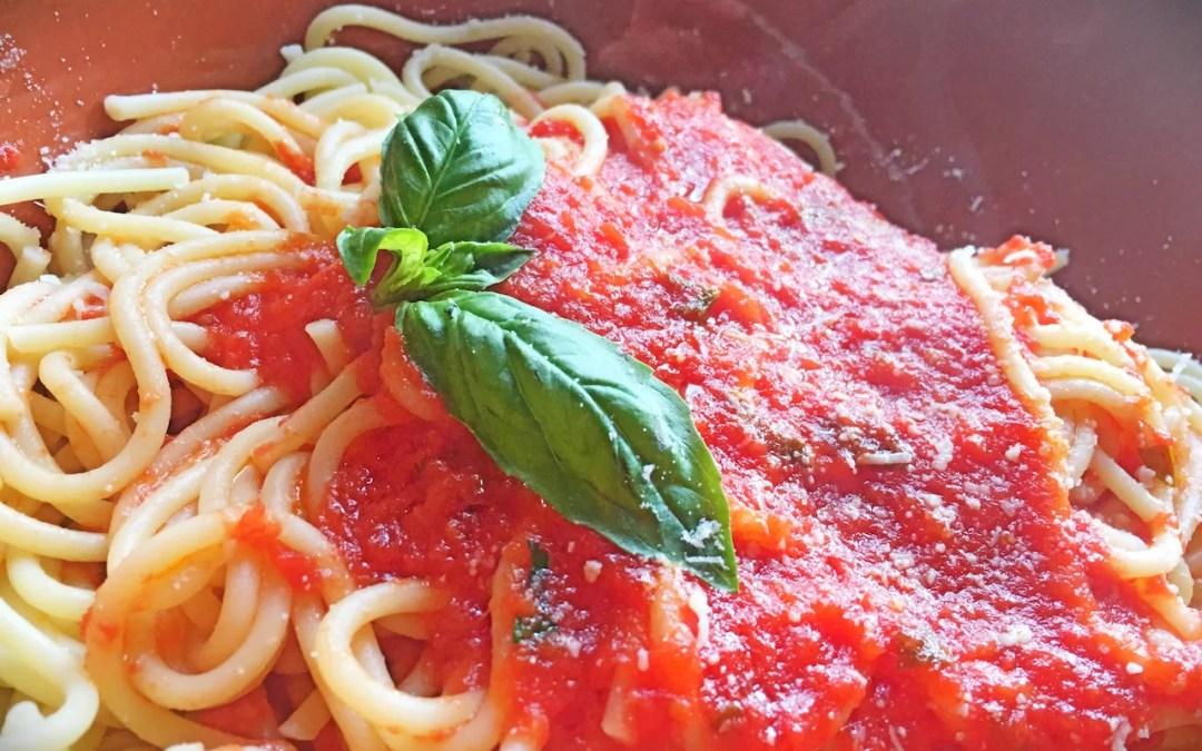 Simple San Marzano Tomato Sauce