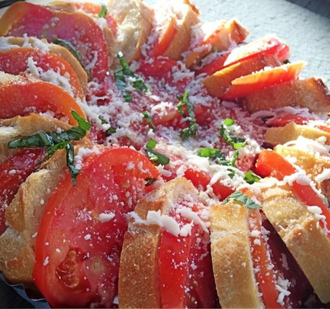 Tomato Baguette Tart
